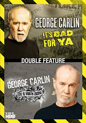 IT'S BAD FOR YA LIFE IS WORTH LOSING BY CARLIN,GEORGE (DVD)